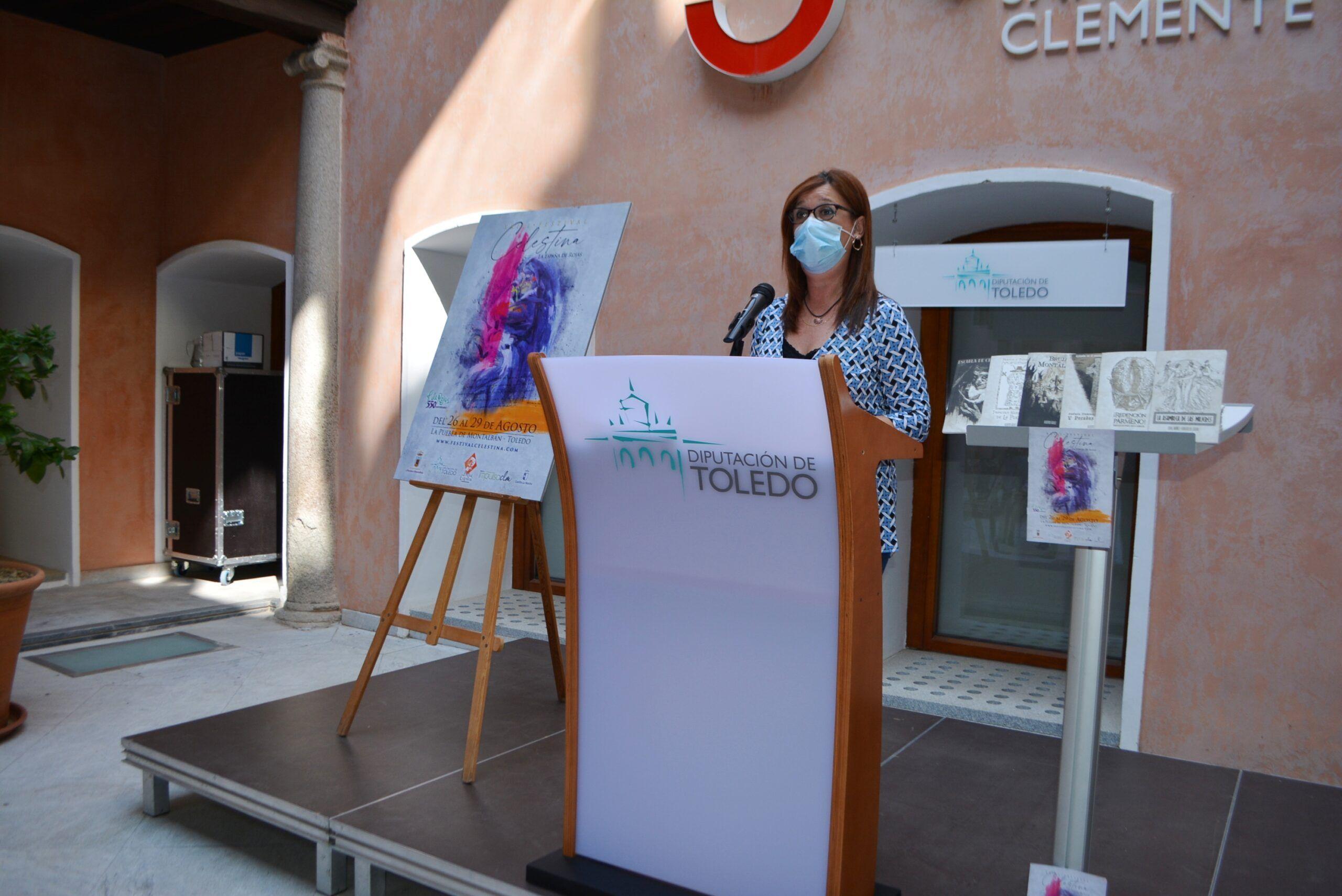La Diputación de Toledo colabora con 10.000 euros para el Festival Celestina de la Puebla de Montalbán