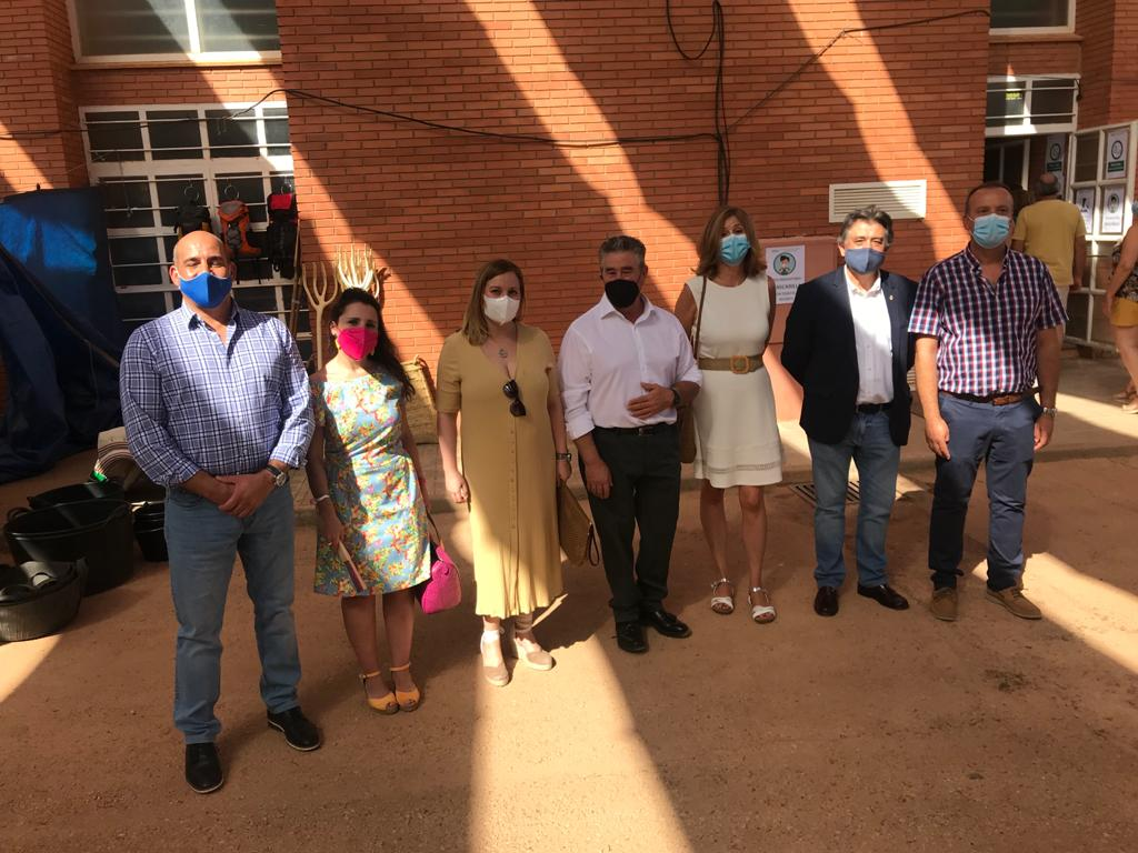 El Grupo Popular en Diputación participa en la inauguración de MENCATUR