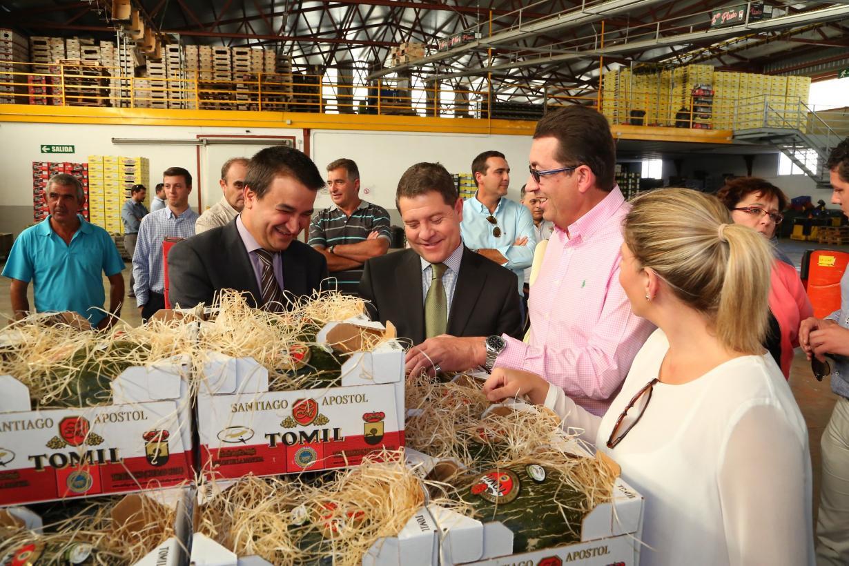 García-Page compromete 70 millones de euros más para la modernización del sector agroalimentario a través de las ayudas FOCAL