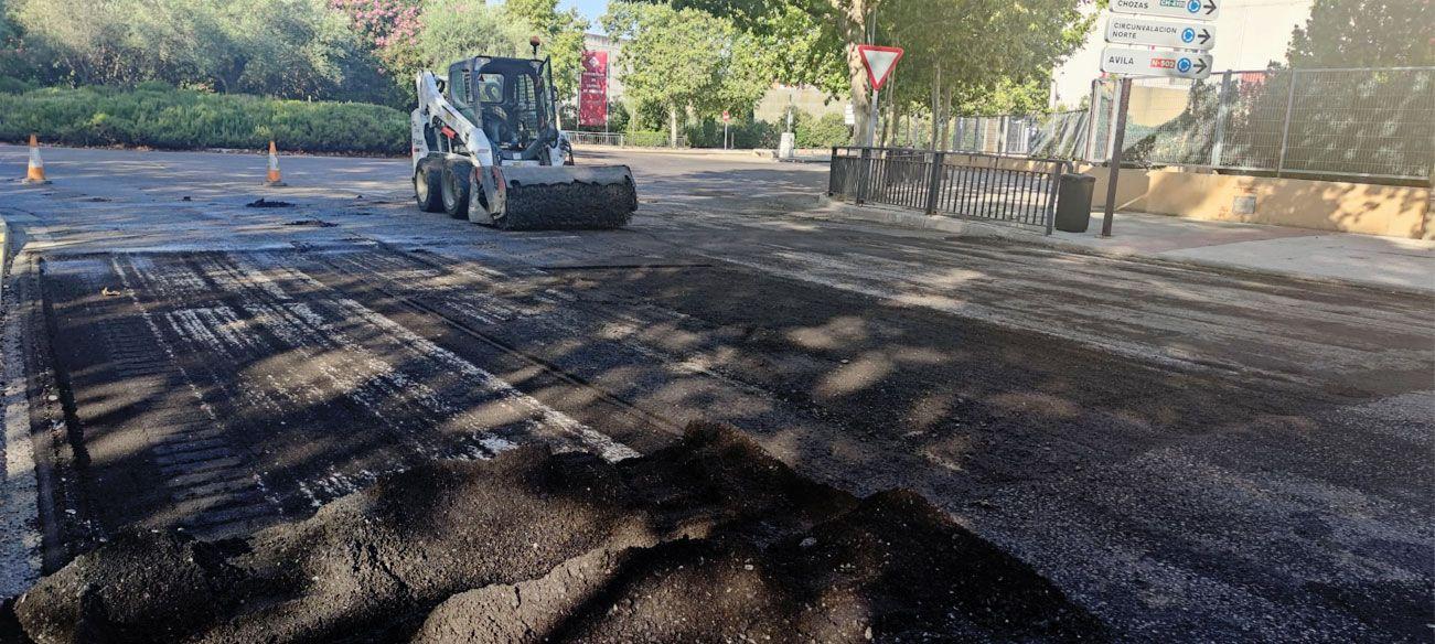 El equipo de Gobierno inicia el acondicionamiento de pasos de peatones de la ciudad