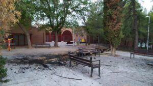 La Policía Local pide colaboración ciudadana para localizar a las personas que han provocado diversos incendios en el Polígono