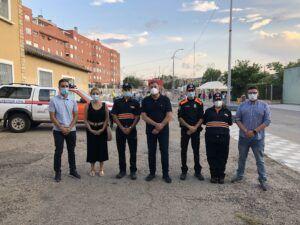 Los voluntarios de Protección Civil han prestado su apoyo en el Recinto Ferial y los conciertos durante la Feria y Fiestas de San Julián 2021