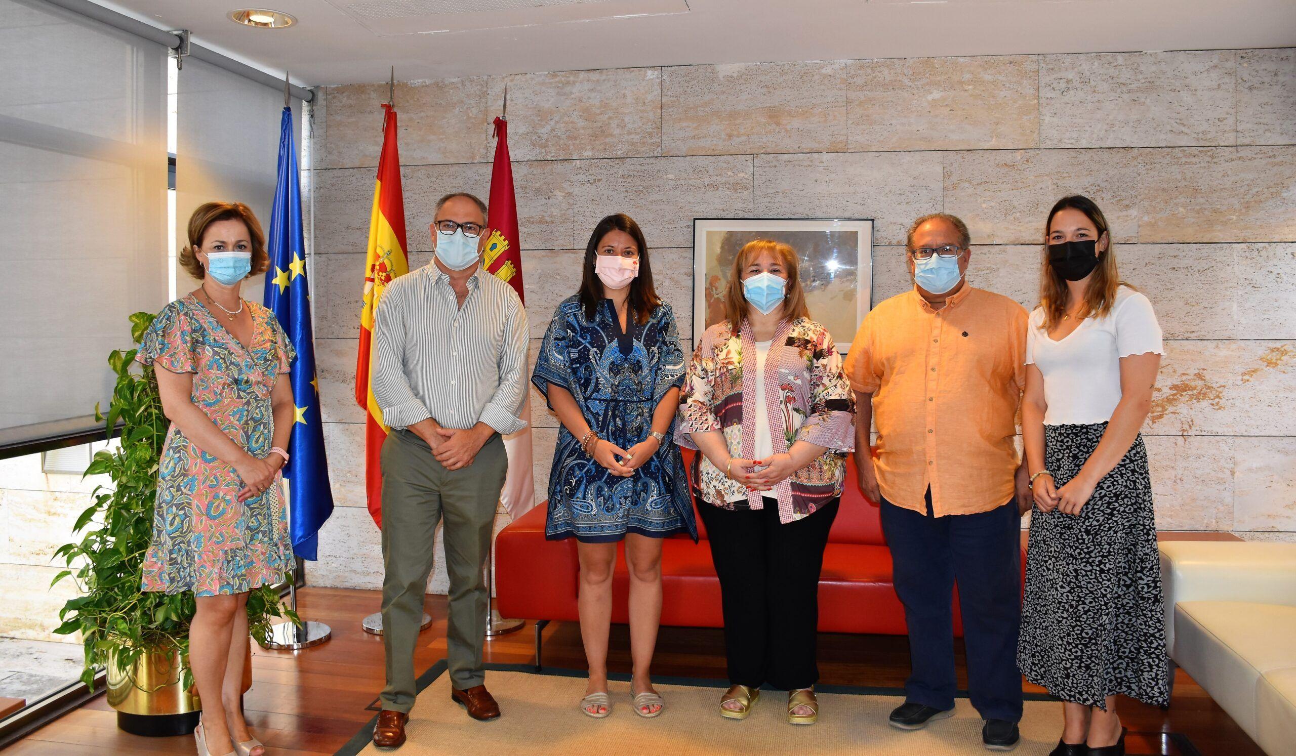El Gobierno regional respalda la labor de la Fundación Ceres para la inserción socio-laboral de personas vulnerables, dependientes o en riesgo de exclusión