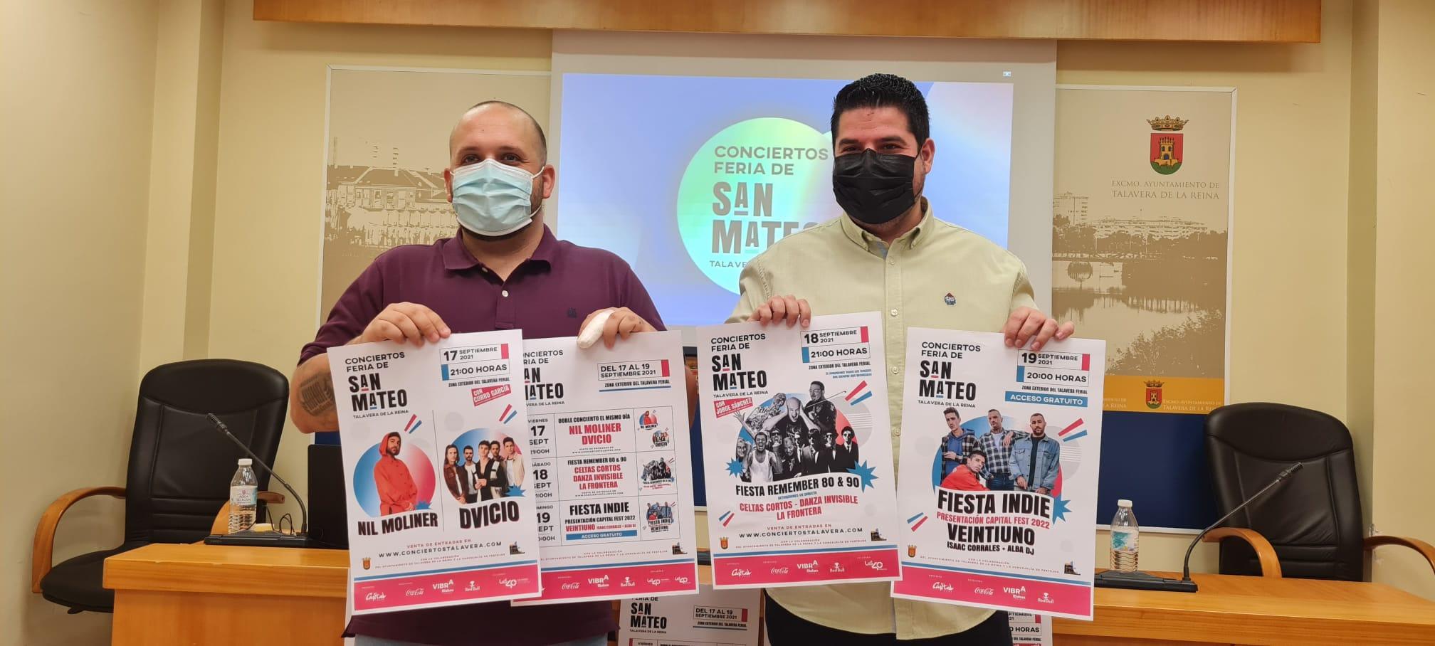 """El equipo de Gobierno apuesta por conciertos """"con artistas de primer nivel"""" en un espacio seguro para San Mateo"""