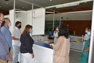 113.000 dosis puestas en Talavera Ferial fruto de la colaboración y coordinación entre el Gobierno municipal y regional y SESCAM