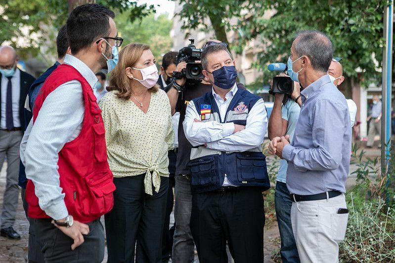 El Gobierno regional pondrá todos los medios humanos y materiales para que los centros educativos afectados por la riada puedan volver a la normalidad