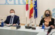 García-Page reclama al Estado la partida de 'Fondos Covid' y que elimine la tasa de reposición de plantillas funcionariales