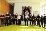 El subdelegado del Gobierno da la bienvenida a dieciocho nuevos policías a la Comisaría Provincial de Albacete