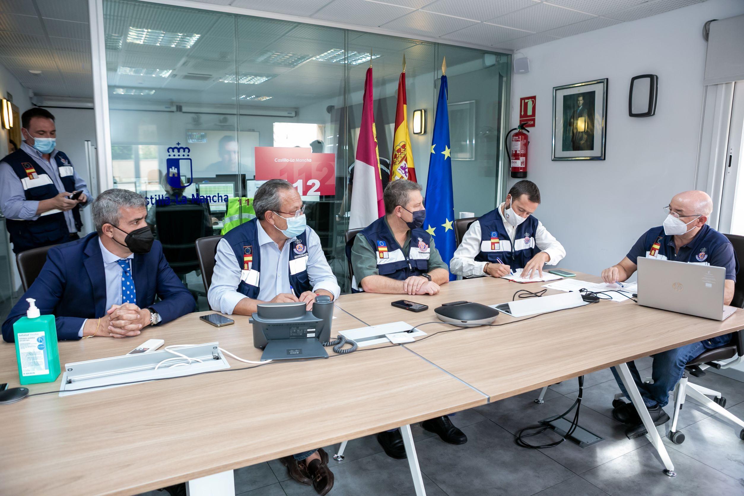 El Gobierno Provincial moviliza los efectivos de la Diputación de Toledo para atender a los municipios afectados por las riadas