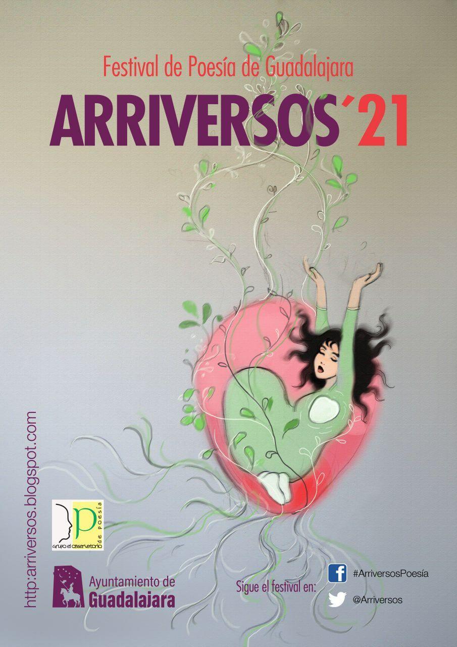 El Festival de Poesía 'Arriversos 2021' crece en días y actividades y se celebrará entre el 15 de septiembre y el 1 de octubre en diferentes escenarios