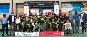 El Gobierno regional felicita al BM Bolaños al proclamarse primer campeón del Trofeo Junta de Comunidades de Balonmano Femenino
