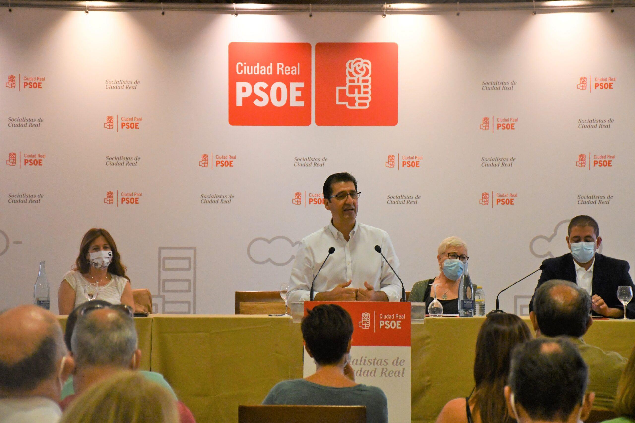 José Manuel Caballero presenta su candidatura para ser reelegido secretario provincial del PSOE