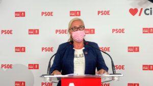 """Carmen Mínguez: """"El PSOE tiene claro que no hay recuperación económica si no se hace de manera justa y sin dejar a nadie atrás"""""""