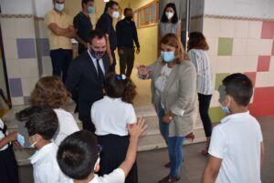 La alcaldesa de Talavera destaca un inicio de curso 'seguro' ligado a los buenos datos de vacunación entre jóvenes de entre 12 y 19 años