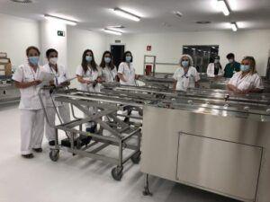 Comienza el Plan de Formación de los profesionales de la nueva central de esterilización del Hospital Universitario de Toledo