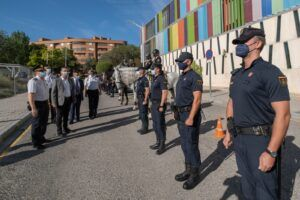Tierraseca destaca la garantía de seguridad que supone el dispositivo especial de Policía Nacional, operativo en Albacete entre el 7 y el 17 de septiembre