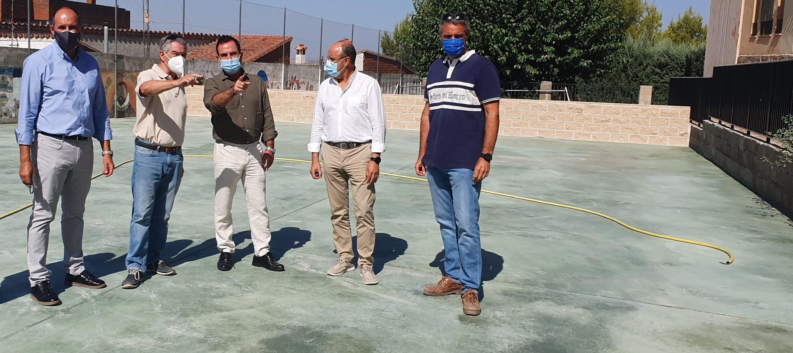 El Gobierno regional ha invertido 611.000 euros en adaptar, modernizar y acondicionar los centros educativos de la Campana de Oropesa