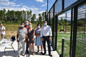 La Diputación de Cuenca ha invertido 18.000 euros en la construcción de una nueva pista de pádel en Alcalá de la Vega