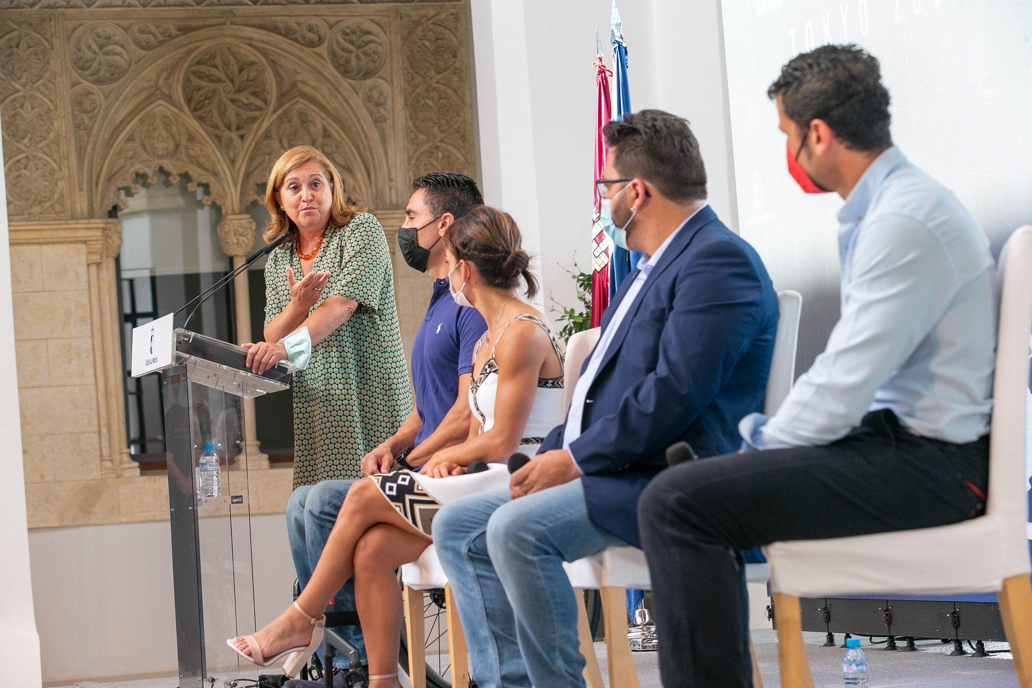 El Gobierno regional señala que los olímpicos y paralímpicos castellanomanchegos son un referente para todos, pero sobre todo para los niños y niñas que se inician en el deporte