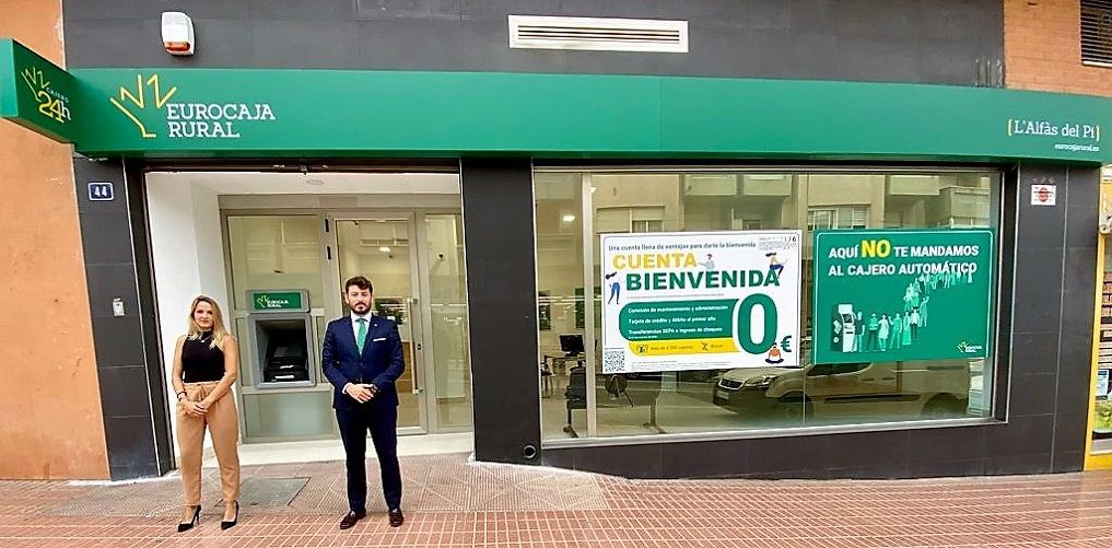 Eurocaja Rural inaugura una nueva oficina en L'Alfàs del Pi, en pleno corazón de la Costa Blanca