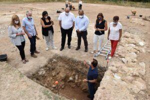 La campaña de investigación del Gobierno regional destapa en el yacimiento de Noheda un gran edificio de 800 metros cuadrados