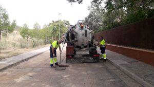 El Ayuntamiento de Toledo mantiene activo el sistema de limpieza de imbornales ante el aviso de nuevas precipitaciones para mañana