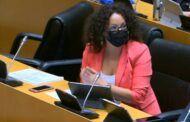 María Luisa Vilches subraya que desde el PSOE se aboga por una política fiscal que contribuya a que