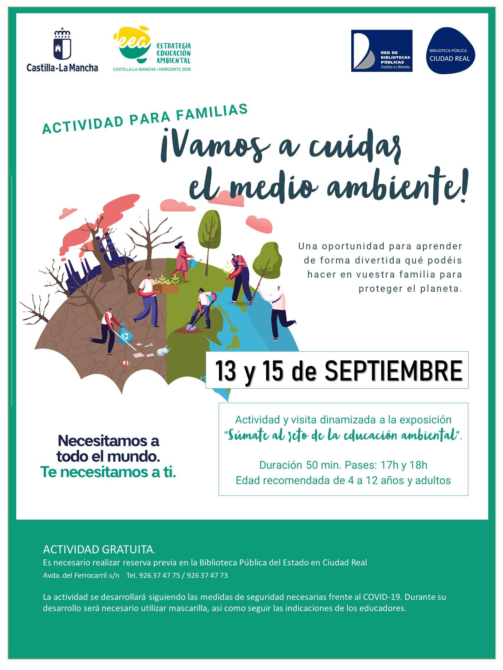 El Gobierno de Castilla-La Mancha anima a los ciudadrealeños a ser parte de la solución frente a los peligros que amenazan a nuestro medio natural