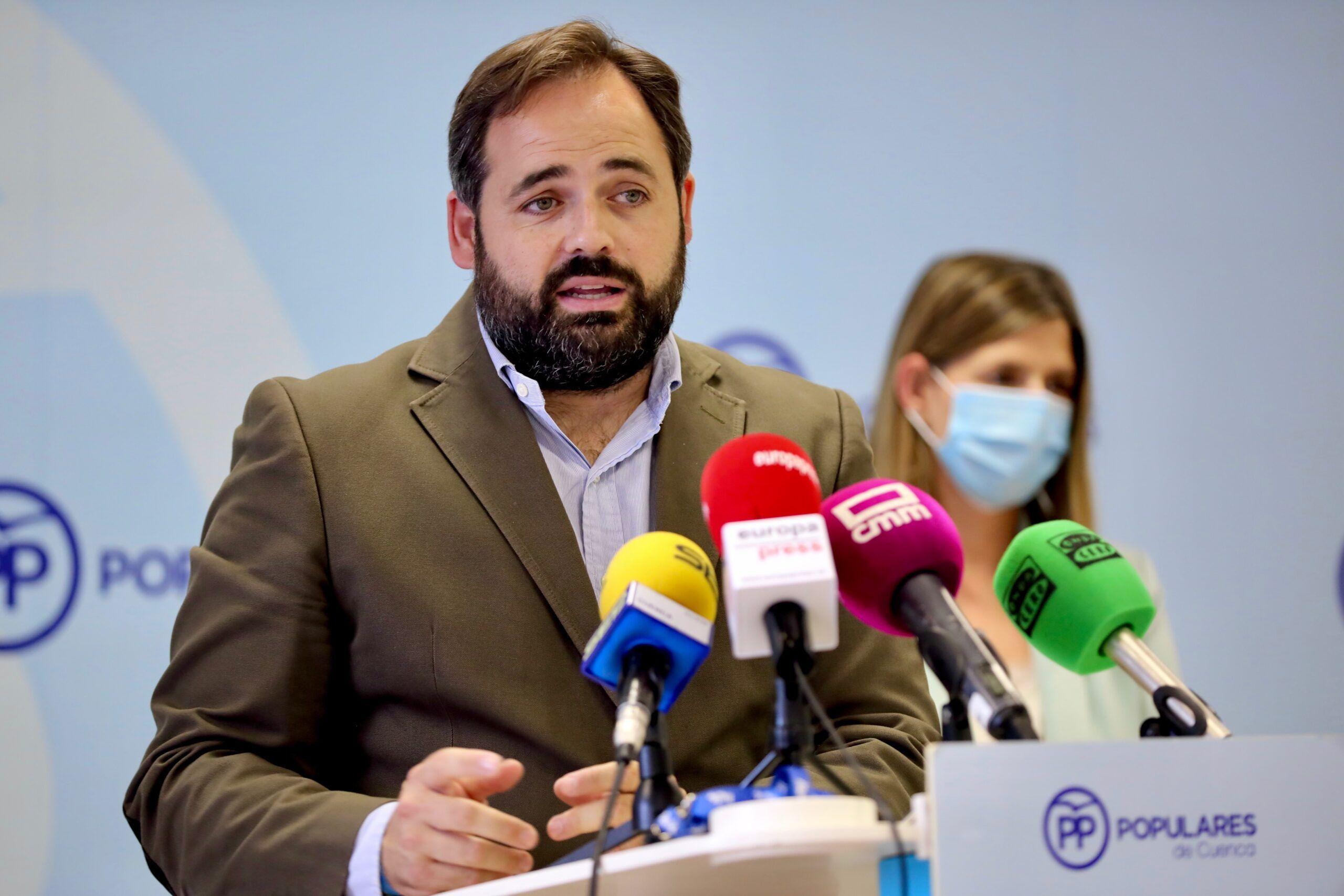 Núñez reclama a Page que ordene a los diputados nacionales el PSOE-CLM que voten a favor de la propuesta de Casado para bajar el precio de la luz