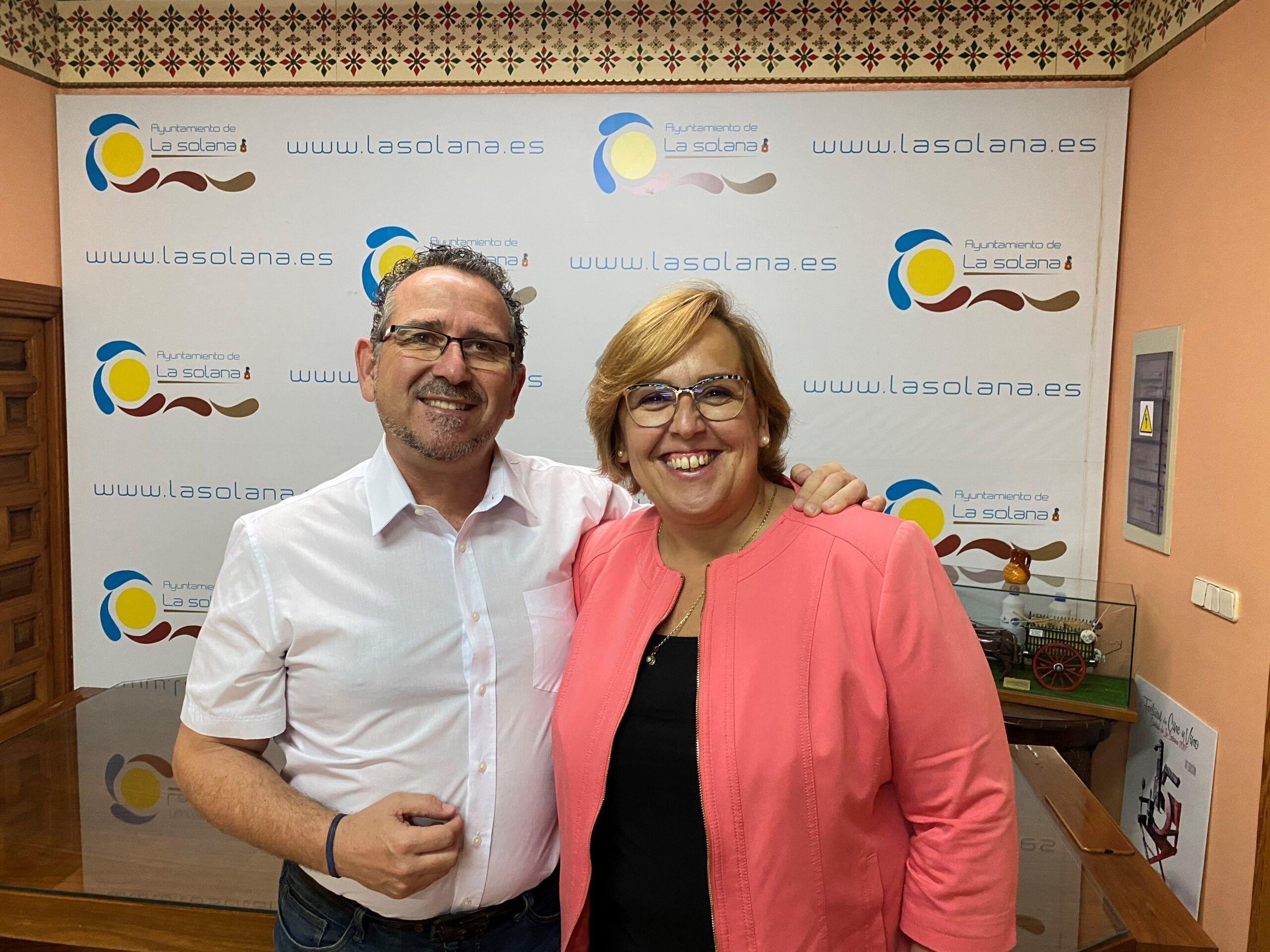 El Gobierno de Castilla-La Mancha valora el trabajo de Luis Díaz- Cacho como alcalde de La Solana y le felicita por su nuevo cargo en el Gobierno de España