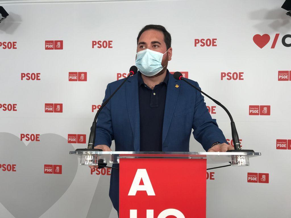 """Pablo Camacho: """"Paco Núñez y el responsable de sanidad que ha designado, son una amenaza para la sanidad pública, y en concreto, para los hospitales de Tomelloso, Villarrobledo y Almansa"""""""
