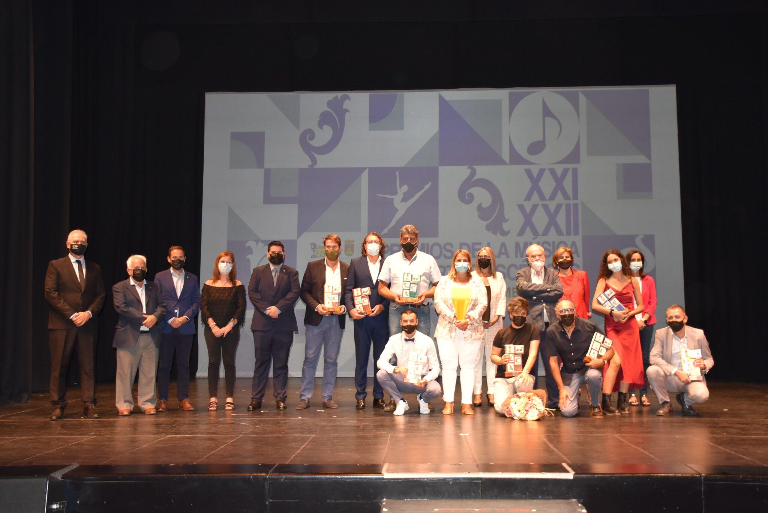 """La alcaldesa valora los Premios de la Música y las Artes Escénicas 'Ciudad de Talavera' como parte de la """"cultura viva"""" de la ciudad"""
