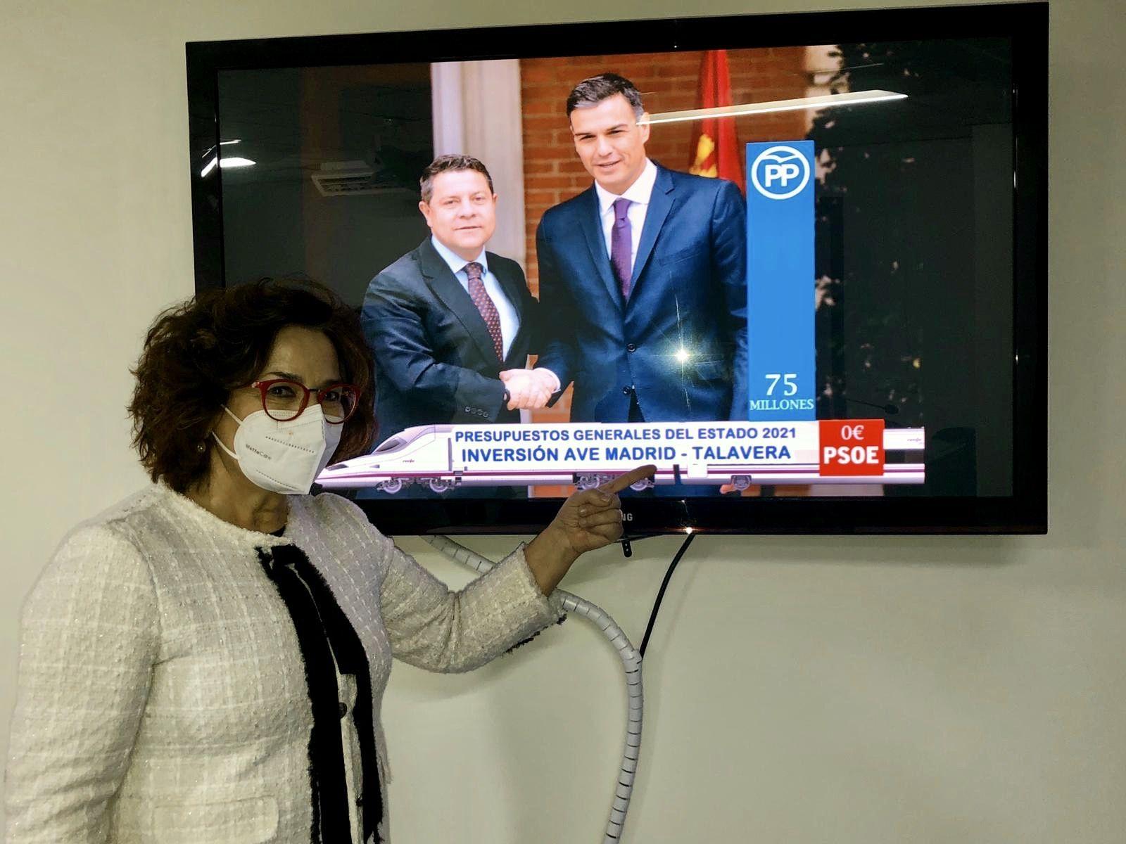 Los parlamentarios del PP de la provincia recuerdan al Gobierno de Sánchez que Talavera y su comarca también existen para los PGE de 2022