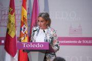 """Tolón valora la """"sensibilidad"""" del Gobierno de España para declarar a Toledo zona afectada por una emergencia"""