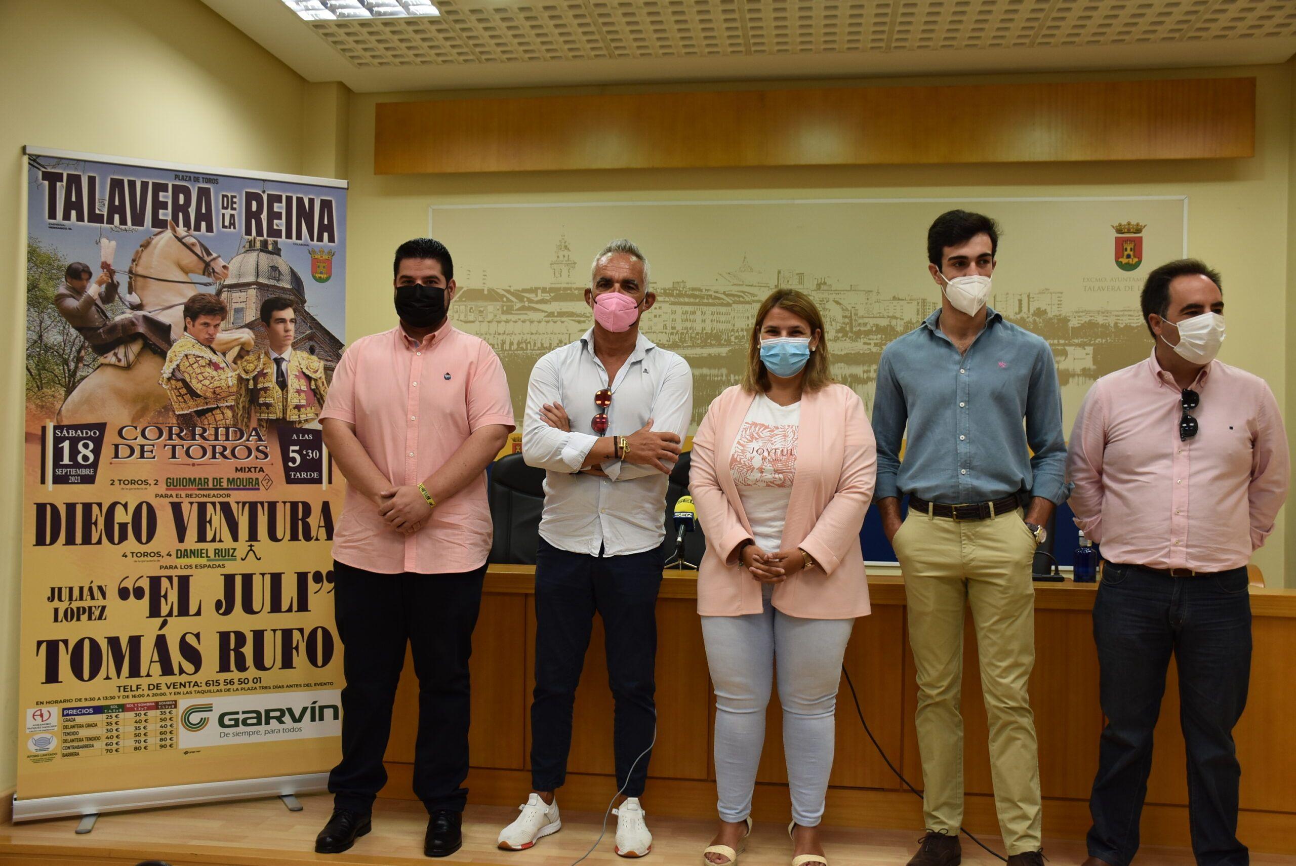 """La alcaldesa de Talavera destaca que """"los toros vuelven por San Mateo a La Caprichosa"""""""