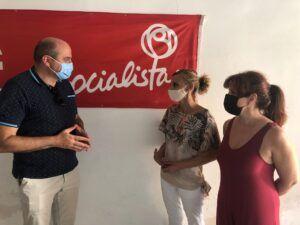 El PSOE de Torralba de Calatrava pone en valor, durante la reunión mantenida con el delegado provincial de sanidad, la ingente labor desarrollada por los sanitarios en el municipio