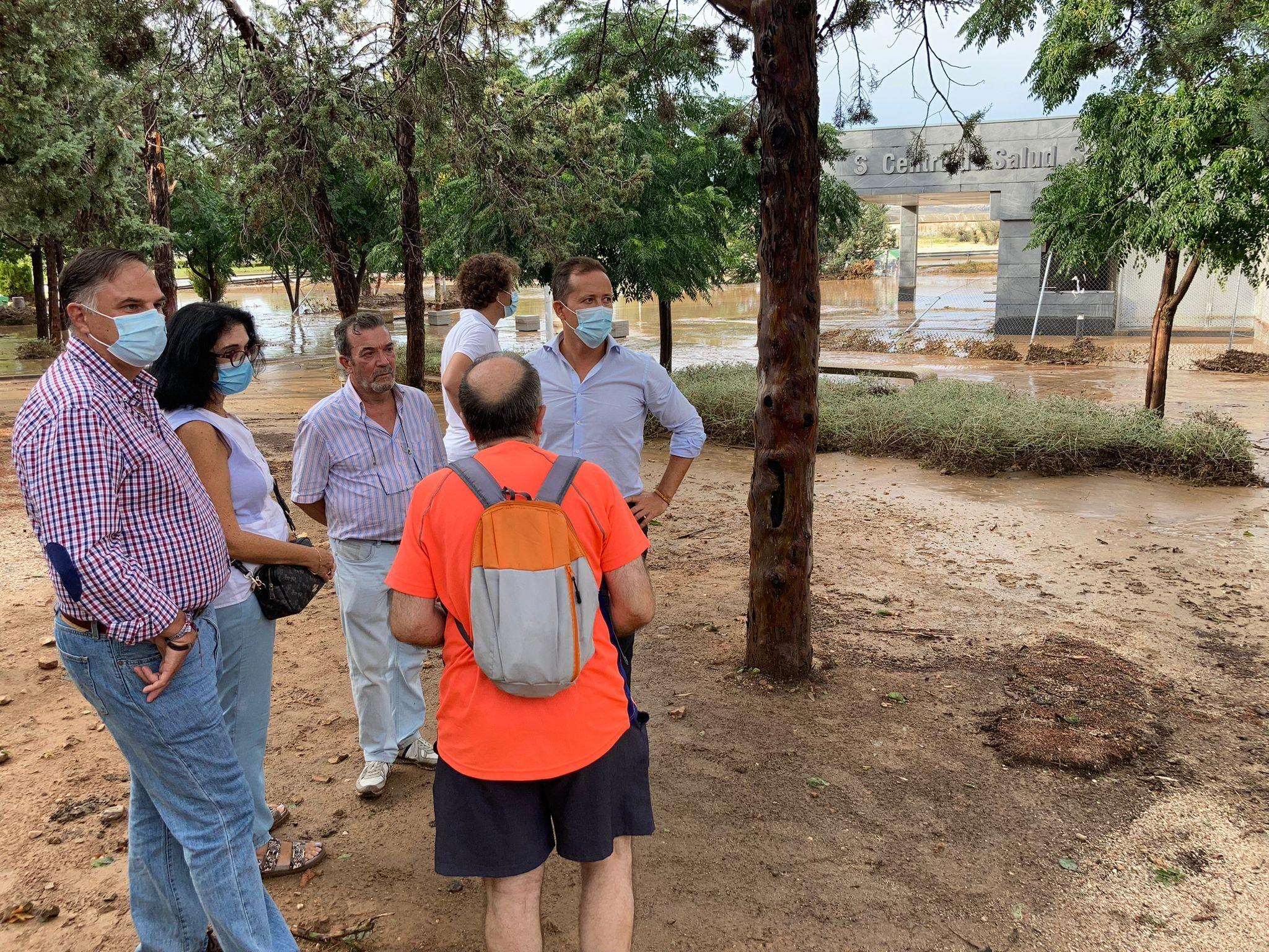 Velázquez pide soluciones para el Centro de Salud de Santa Bárbara